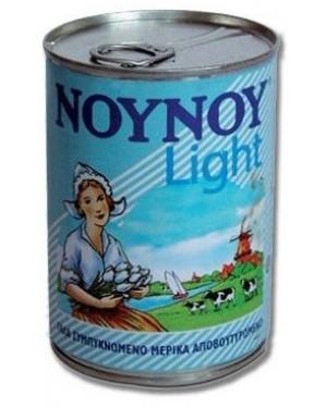 """Γάλα """"Νουνού"""" Εβαπορέ light 400gr (6 τεμάχια)"""