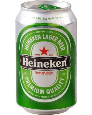 """Μπύρα """"Heineken"""" κουτί 330ml"""