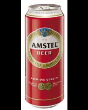 """Μπύρα """"Amstel"""" στα 500ml σε κουτί"""