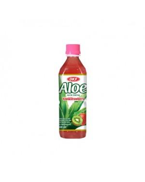 Χυμός OKF 'ALOE VERA' ακτινίδιο, φράουλα 500ml