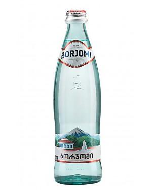 """Νερό Αφρώδες """"BORJOMI"""" σε γυάλινη φιάλη στα 500ml"""