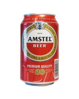 """Μπύρα """"Amstel"""" στα 330ml 8+4Δ σε κουτί"""