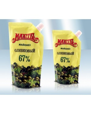 """Μαγιονέζα """"Macheev"""" Olive 380gr"""