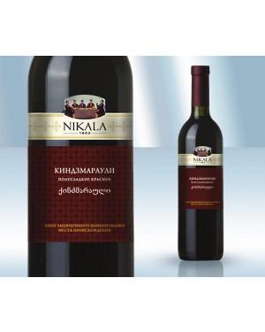 """Κρασί Κόκκινο Ημίγλυκο """"Kindzmarauli"""" 10% 750ml"""