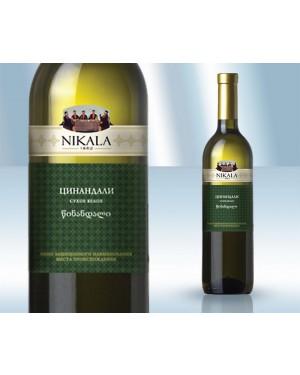 """Κρασί Λευκό Ξηρό """"Tsinandali"""" 13% 750ml"""