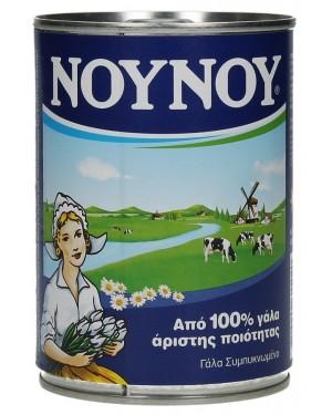 """Γάλα """"Νουνού"""" Εβαπορέ 400gr"""