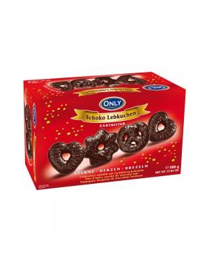 Μπισκότα Gingerbread με σοκολάτα υγείας 500g