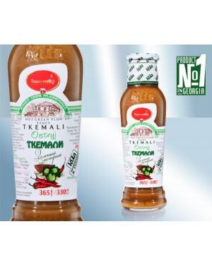 Σάλτσα Tkemali Kula πράσινη καυτερή