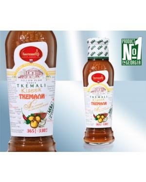 Σάλτσα Tkemali Kula κίτρινη καυτερή