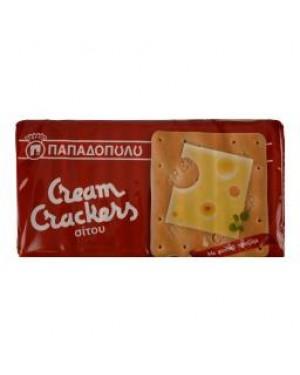 Κράκερς σίτου Παπαδοπούλου 140g