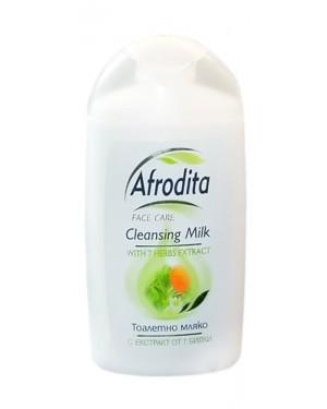 Γαλάκτωμα καθαρισμού με 7 βότανα Afrodita στα 150ml