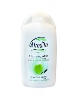 Γαλάκτωμα καθαρισμού με αλόη Afrodita στα 150ml
