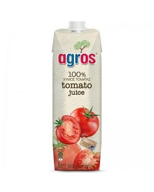 """Χυμός Ντομάτας """"Agros"""" 1L"""