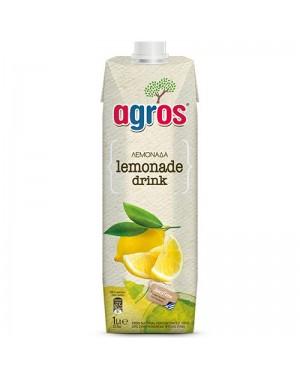 """Χυμός Φρουτοποτό Λεμόνι """"Agros"""" 1L"""