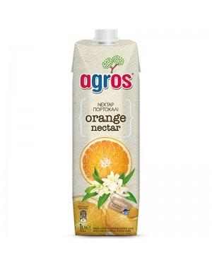 """Χυμός Πορτοκάλι Nectar 50% """"Agros"""" 1L"""