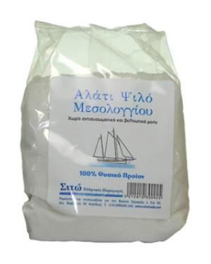 ΒΙΟ ΣΙΤΩ αλάτι Μεσολογγίου ψιλό 500gr