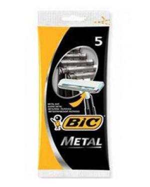 Ξυραφάκια BIC metal 5 τεμαχίων
