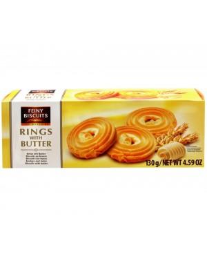 Μπισκότα βουτύρου rings 130gr