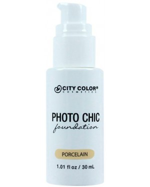 CITY COLOR FOUNDATION MATTE -PORCELAIN  No 1 30ml