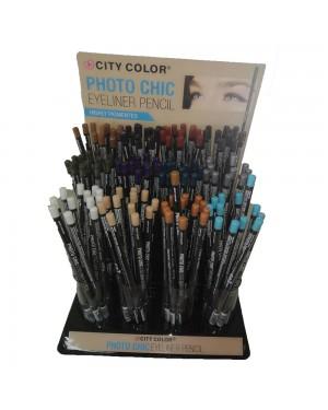 Μολύβι Eyeliner City Color E0058 σετ από 12 χρώματα