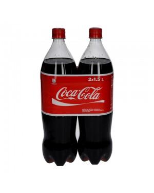 Coca Cola 2 x 1.5lt, συσκευασία 6 τεμαχίων