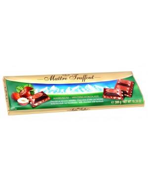 Σοκολάτα γάλακτος με φουντούκια 300gr