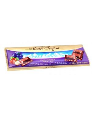 Σοκολάτα γάλακτος με φουντούκια και σταφίδες 300gr