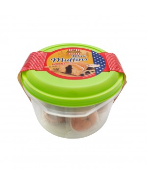 Mini muffins choco-cream-chips 250g