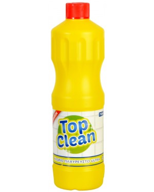 TOP CLEAN ΧΛΩΡΙΝΗ LEMON 750 ml