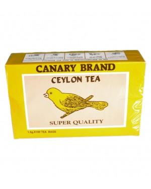 Τσάι μαύρο Κάναρι Κεϋλάνης 100x1.5g φακελάκια