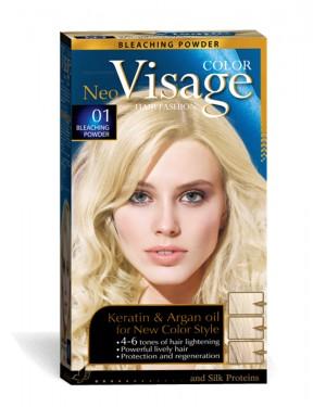 Βαφή μαλλιών Visage Νο 01 ξανθιστική σκόνη