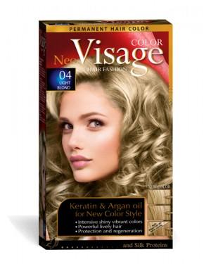 Βαφή μαλλιών Visage Νο 04 ανοιχτο ξανθό
