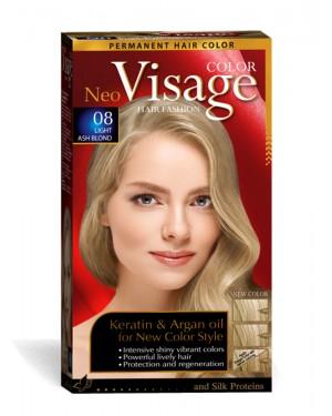 Βαφή μαλλιών Visage Νο 08 ανοιχτό σαντρέ ξανθό