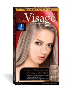 Βαφή μαλλιών Visage Νο 12 σκούρο σαντρέ ξανθό