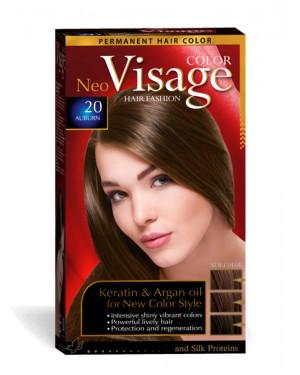 Βαφή μαλλιών Visage Νο 20 πυρόξανθο