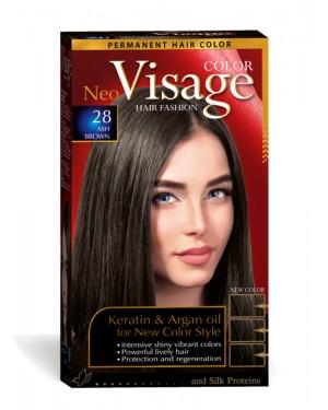 Βαφή μαλλιών Visage Νο 28 καστανό σαντρέ