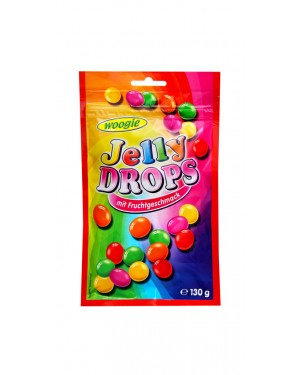 Ζαχαρωτά φρούτων Woogie jelly drops 130gr
