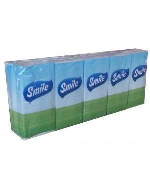 Χαρτομάντηλο τσέπης Smile 10 τεμαχίων