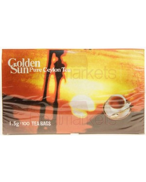 Τσάι μαύρο Golden Sun 100 * 1,5gr