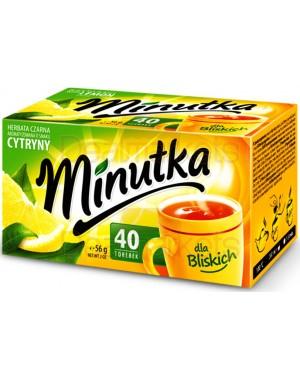 Τσάι μαύρο Minutka φάκελος λεμόνι  40 * 1.5gr