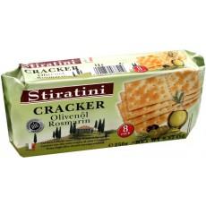 CrackersStiratini με ελαιόλαδο & δενδρολίβανο 250gr