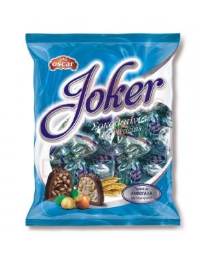 Σοκολατάκια Joker γεμιστά Oscar με ανθόγαλα 200gr