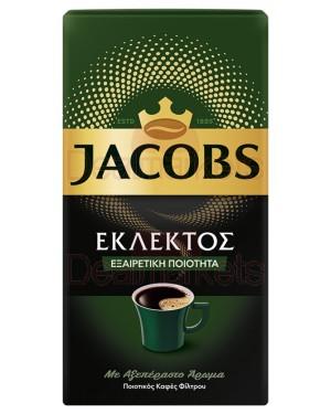 Jacobs καφές φίλτρου εκλεκτός 500gr (ελληνικός)