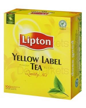Lipton τσάι συσ/σια 100 φακ. 200γρ