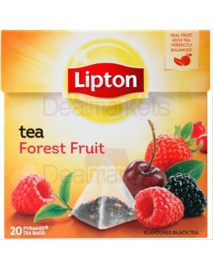 Lipton τσάι πυραμίδα forest fruit 20 φακ. (ελ/κο)