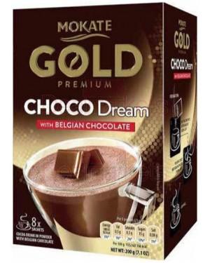 Mokate gold premium Βέλγικη σοκολάτα (25grx8φ) 200gr