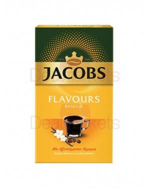 Jacobs flavors καφές φίλτρου βανίλια 250gr (ελλ.)