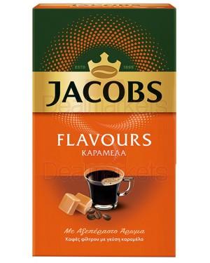 Jacobs flavors καφές φίλτρου καραμέλα 250gr (ελλ.)
