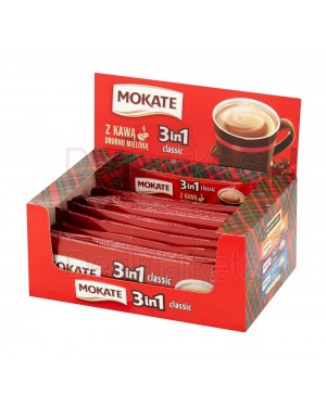 Mokate 3 σε 1 classic καφές/ζάχαρη/γάλα (17grx15φ)