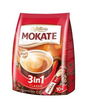 Mokate 3 σε 1 classic καφές/ζάχαρη/γάλα (17grx10φ) 170gr σακούλα